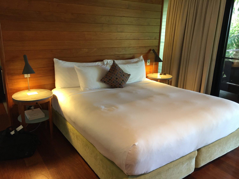 ベッド ハミルトン島 クオリア