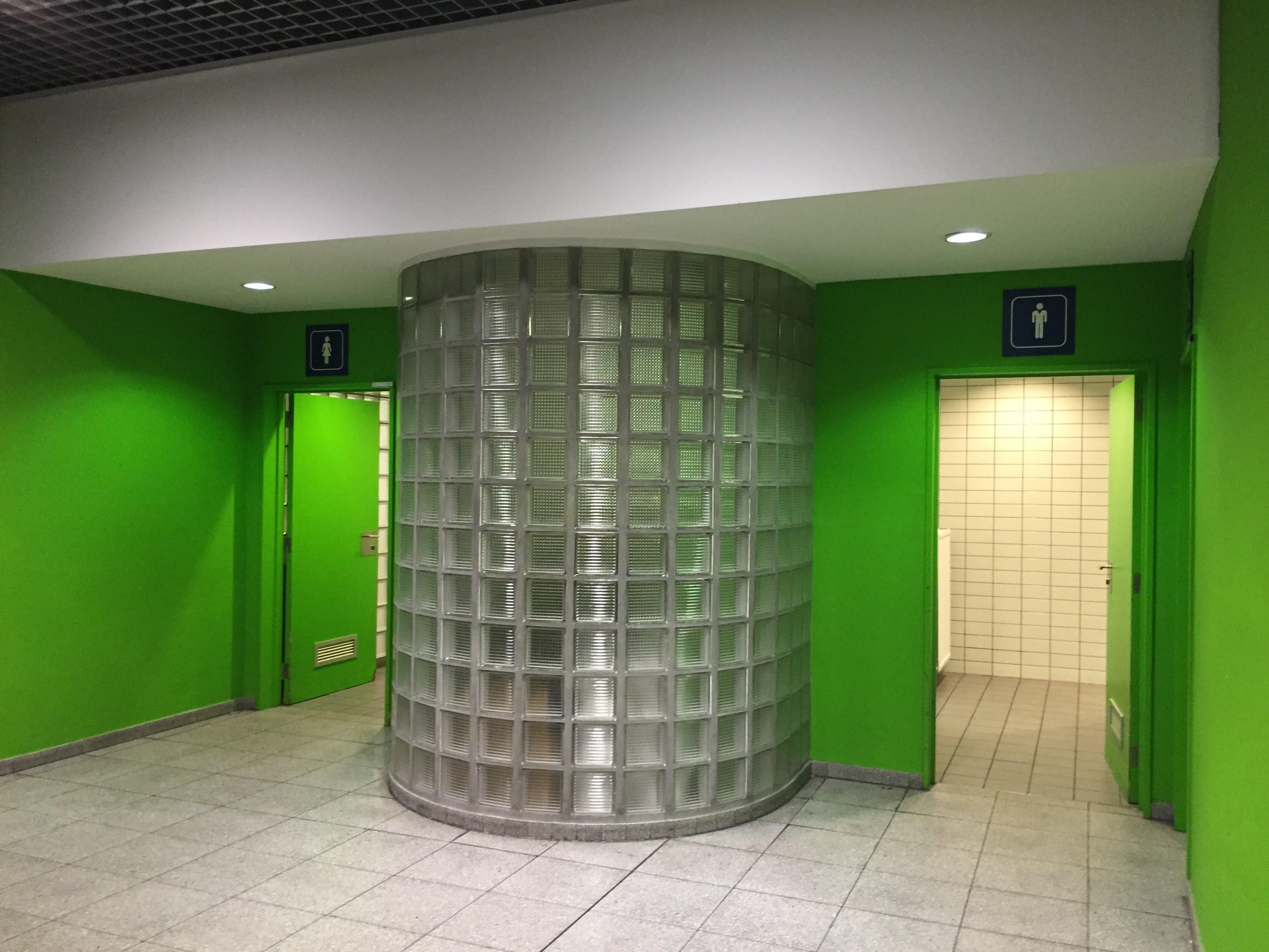待合ラウンジのトイレ