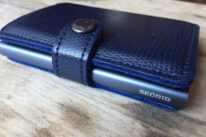 オランダ製のオシャレで機能的なカードプロテクター財布・SECRID(シークリッド)徹底解剖・スキミング防止機能付き
