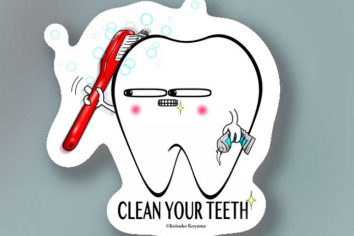 """デンタルキャラクターのToothくん""""歯磨きバージョン""""・歯の健康を身近に!"""