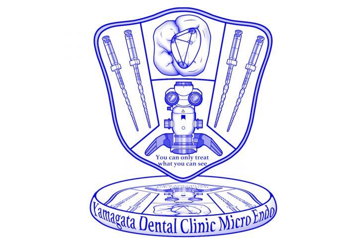歯科クリニックロゴ提供実績・マイクロエンド山縣歯科医院さんからの依頼