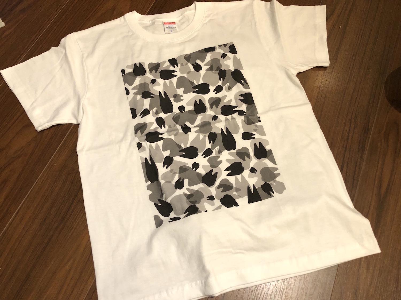 KAAK studio Teeth迷彩柄Tシャツ