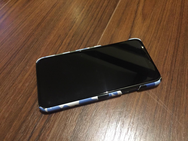 小山慶介デザイン Teeth迷彩柄 iPhoneケース